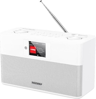 Kenwood CR-ST100S-W DAB Radio White