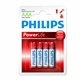 Philips Batterij AAA LR03 Powerlife