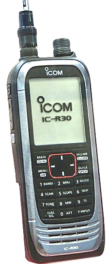 Communication > New by JBE > New and Trends > Icom IC-R30 • Jacobs