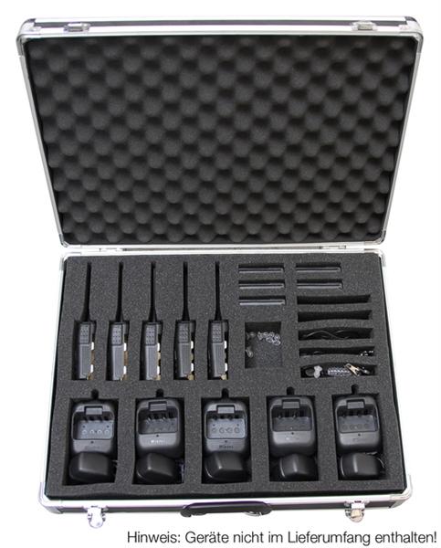 Communicatie bedrijfs portofoons transport koffers jbe opbergkoffer kenwood 10 jacobs for Porte zen fiber