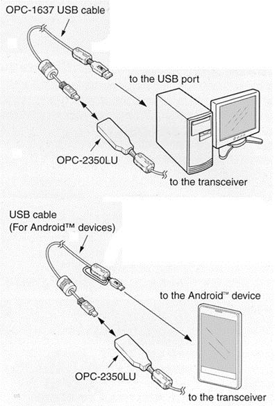 communicatie  u0026gt  radio amateur portofoons  u0026gt  cables  u0026gt  icom
